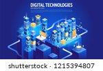 website designs. new innovative ... | Shutterstock .eps vector #1215394807