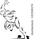 sprinter | Shutterstock .eps vector #121540174