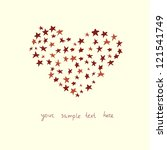 love vector card | Shutterstock .eps vector #121541749