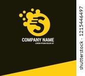 letter s logo koncept. designed ...
