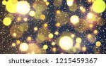 abstract christmas background.... | Shutterstock .eps vector #1215459367