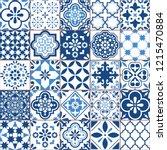 Lisbon Geometric Azulejo Tile...