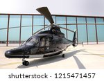 Executive Helicopter Standing...