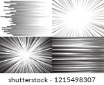four templates for comic... | Shutterstock .eps vector #1215498307