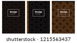 dark brown vector pattern for...