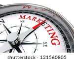 marketing word on conceptual... | Shutterstock . vector #121560805
