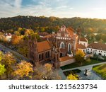 aerial view of st. anne's... | Shutterstock . vector #1215623734