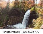 waterfall at minnehaha park | Shutterstock . vector #1215625777