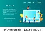 vector concept illustration.... | Shutterstock .eps vector #1215640777