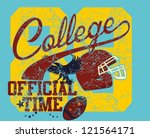 american football   Shutterstock .eps vector #121564171