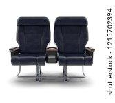 first class passenger double... | Shutterstock . vector #1215702394