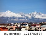 View Of The High Tatras From...