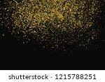 round gold glitter texture... | Shutterstock .eps vector #1215788251