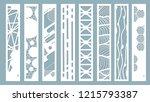 panel for registration of the... | Shutterstock .eps vector #1215793387