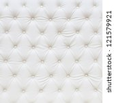 white leather texture | Shutterstock . vector #121579921