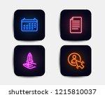 neon set of crowdfunding  file...