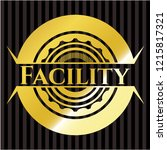 facility gold badge   Shutterstock .eps vector #1215817321