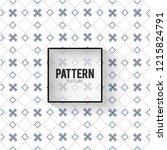 abstract vector floral dark... | Shutterstock .eps vector #1215824791