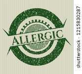 green allergic distressed...   Shutterstock .eps vector #1215830287