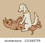 erotic couple dogs version 3. ...