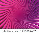 pink hyperbolic spiral   bright ... | Shutterstock . vector #1215859657