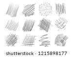 backgrounds with array of lines.... | Shutterstock .eps vector #1215898177