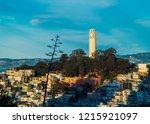 coit tower in san francisco | Shutterstock . vector #1215921097