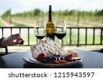 wine tasting in texas wine...   Shutterstock . vector #1215943597