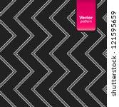 modern pattern illustration.... | Shutterstock .eps vector #121595659