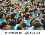 bangkok   dec 9  students... | Shutterstock . vector #121595725