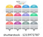 infographic template design... | Shutterstock .eps vector #1215972787