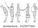 illustration of the... | Shutterstock .eps vector #1215977341