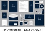 corporate identity set.... | Shutterstock .eps vector #1215997024