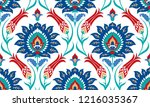 vector seamless colorful... | Shutterstock .eps vector #1216035367