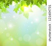 spring background | Shutterstock .eps vector #121604731