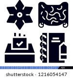 interface related filled vector ...   Shutterstock .eps vector #1216054147