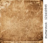grunge  paper texture ... | Shutterstock . vector #121610545