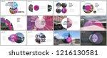 minimal presentations design ... | Shutterstock .eps vector #1216130581