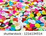 button plastic colorful for... | Shutterstock . vector #1216134514
