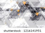 seamless grunge background with ... | Shutterstock .eps vector #1216141951