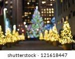"""christmas Trees Blur"" An..."