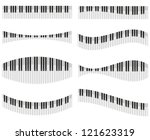 Piano Keys For Different Forms...