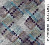 seamless pattern patchwork... | Shutterstock . vector #1216312597