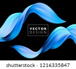abstract colorful vector... | Shutterstock .eps vector #1216335847