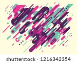 abstract wallpaper template... | Shutterstock .eps vector #1216342354