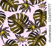 watercolor seamless pattern...   Shutterstock . vector #1216375777