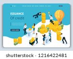 website template landing page...   Shutterstock .eps vector #1216422481