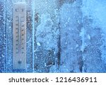 winter forecast weather... | Shutterstock . vector #1216436911