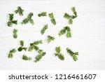 festive composition of... | Shutterstock . vector #1216461607