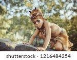 Funny Caveman  Manly Boy....